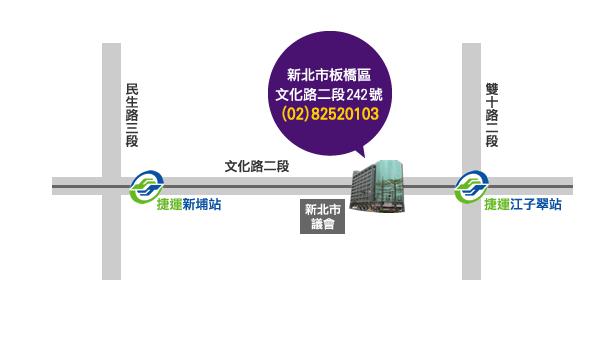龍山寺map